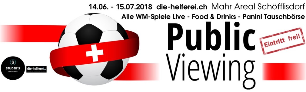 Banner Public Viewing 2018